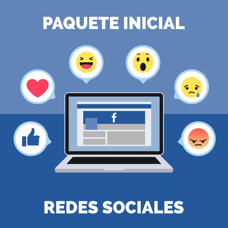 Paquete Inicial Redes Sociales